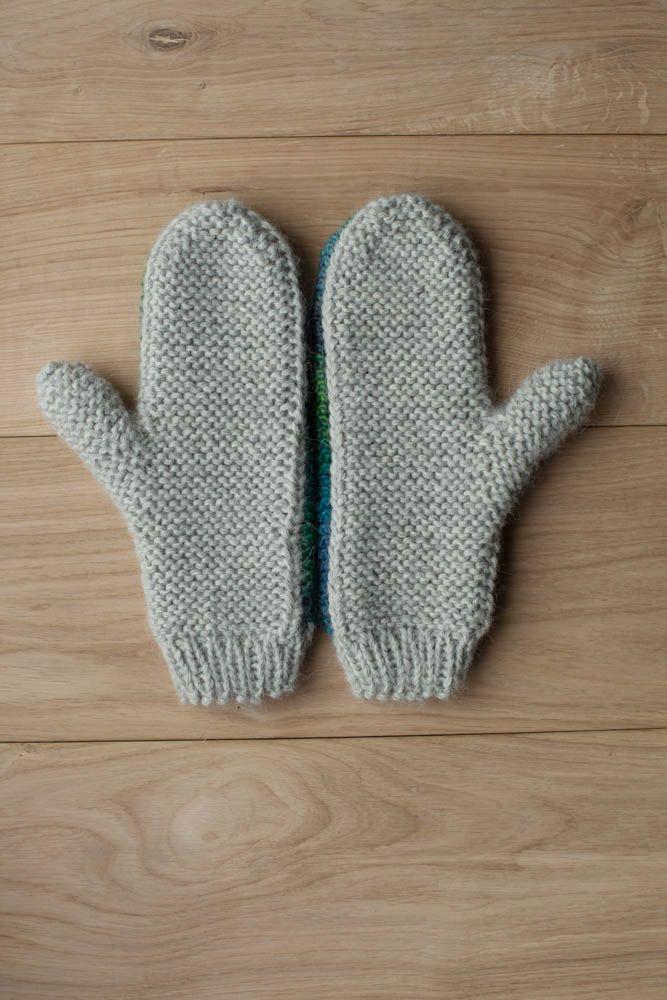 Lawina mittens. 100% Light grey alpaca wool. https://www.facebook.com/lawinaknit/