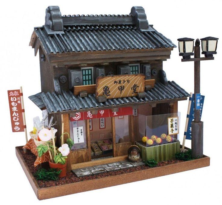 "Billy Handmade Doll House Model Kit Highway Series Kawagoe Kaido ""NEW"""