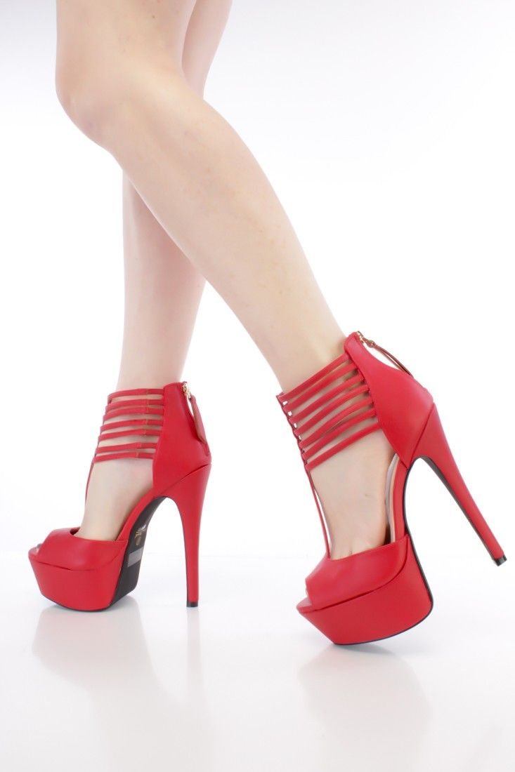 These sexy and stylish platform high heels are a must have this ...