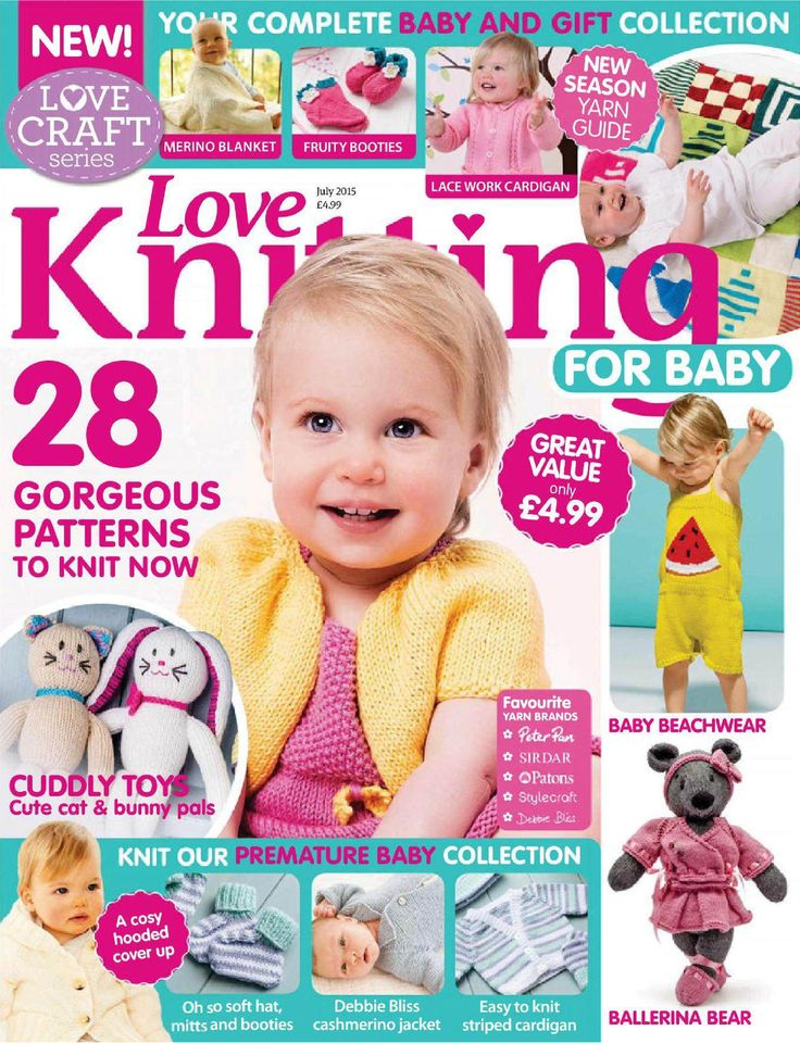 LOVE KNITTING FOR BABIES - JULY 2015