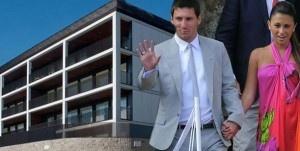 Conoce la nueva mansión de Messi y Antonella - Fotos