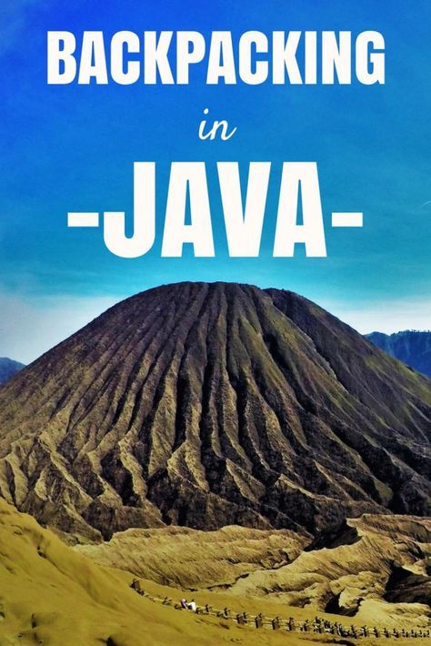 Backpacking in Java Island, Indonesia