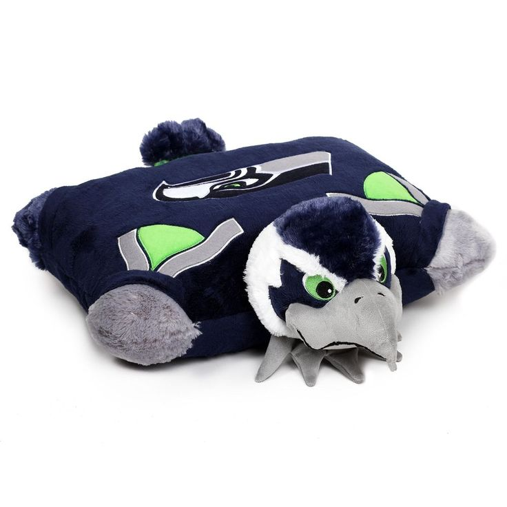 Brand New NFL Seattle Seahawks Pillow Pet With Football Team Logo M 18 X 20 Inch #FabriqueInnovations #SeattleSeahawks