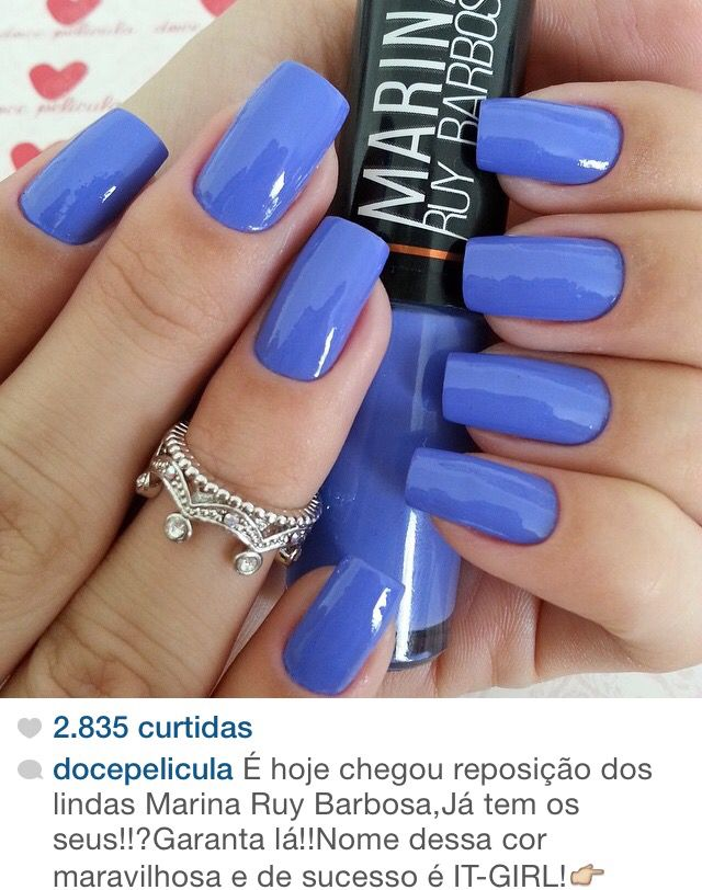 Esmalte Marina Ruy Barbosa- It Girl