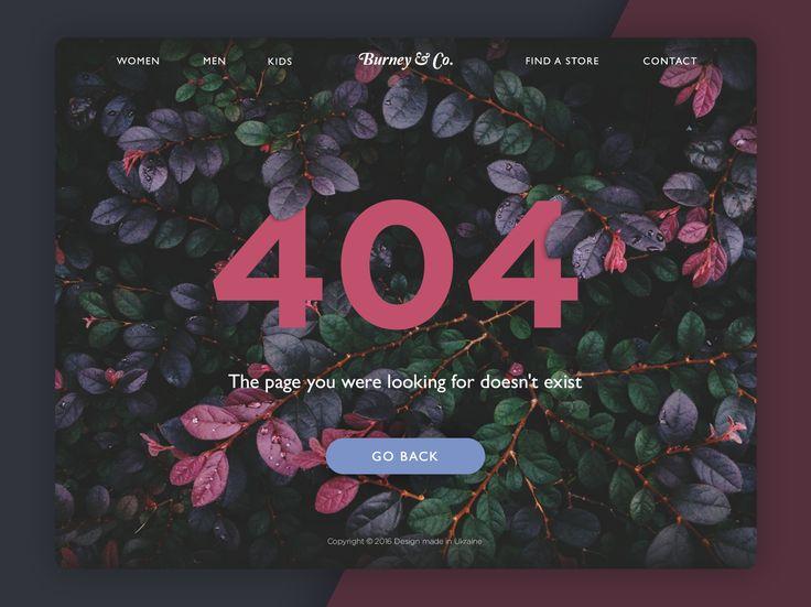 Tubik studio page 404 hd