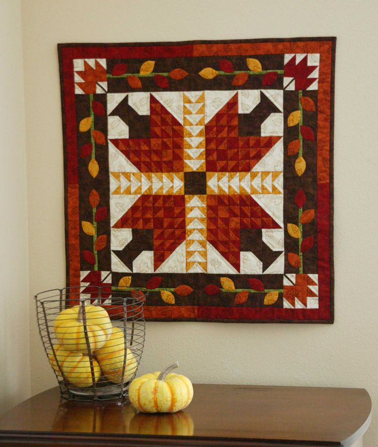 Autumn Leaves by Jen Daly is in Quilters Newsletter's Best Fat Quarter Quilts 2011, still on sale at www.quiltandsewshop.com.