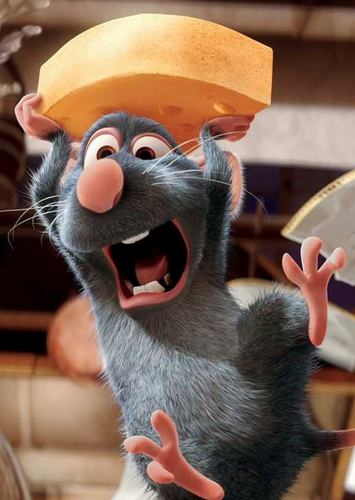 *REMY ~ Ratatouille, 2007 (my personal images are used in my audio e-books for children 3-7 and Illustrative Poetry, available at www.jamesagrove.ca)
