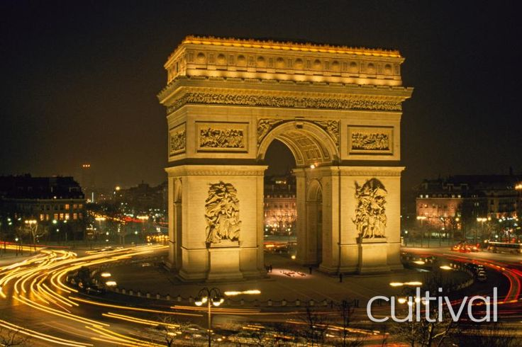 Located on the most beautiful avenue all over the world, the Arc de Triomphe is the most famous symbol in the history of France, and probably the second best known attraction in Paris after the Eiffel Tower. Travel with Tourboks!