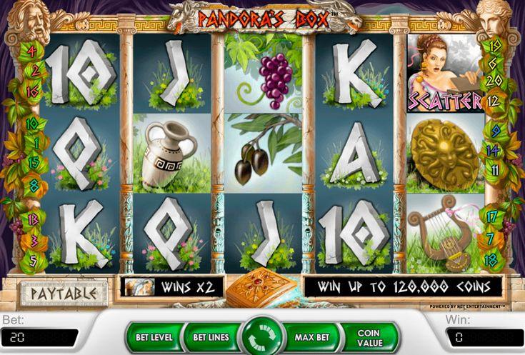 Etsi arvoitukselliset aarteet #NetEnt kolikkopelissä Pandoras Box. Tämä slotti perustettu mystisilla artefakteilla ja antiikin Kreikan myyteillä. Lisääksi pelaaja saa isot voitot.