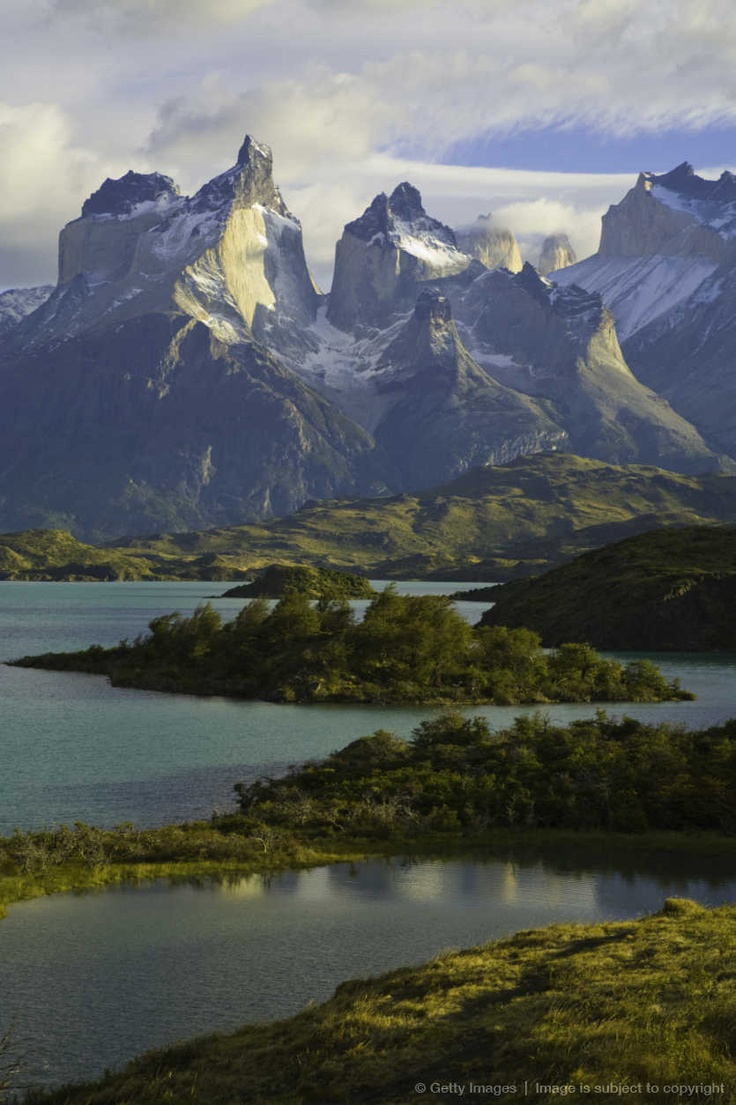 Lake Pehoe, Torres del Paine National Park, Chile
