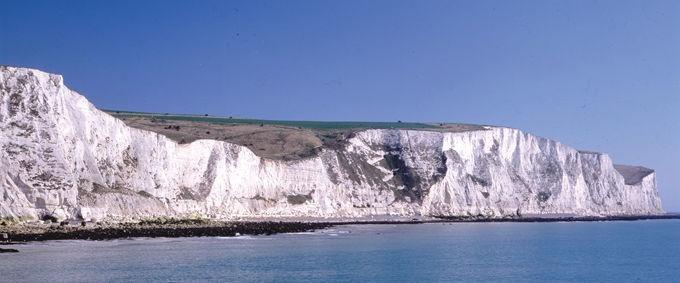 White Cliffs of Dover - zillions of tiny seashells