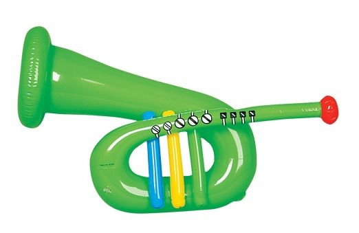 Musical Toy Trumpet : Best images about inflatable musical instruments on