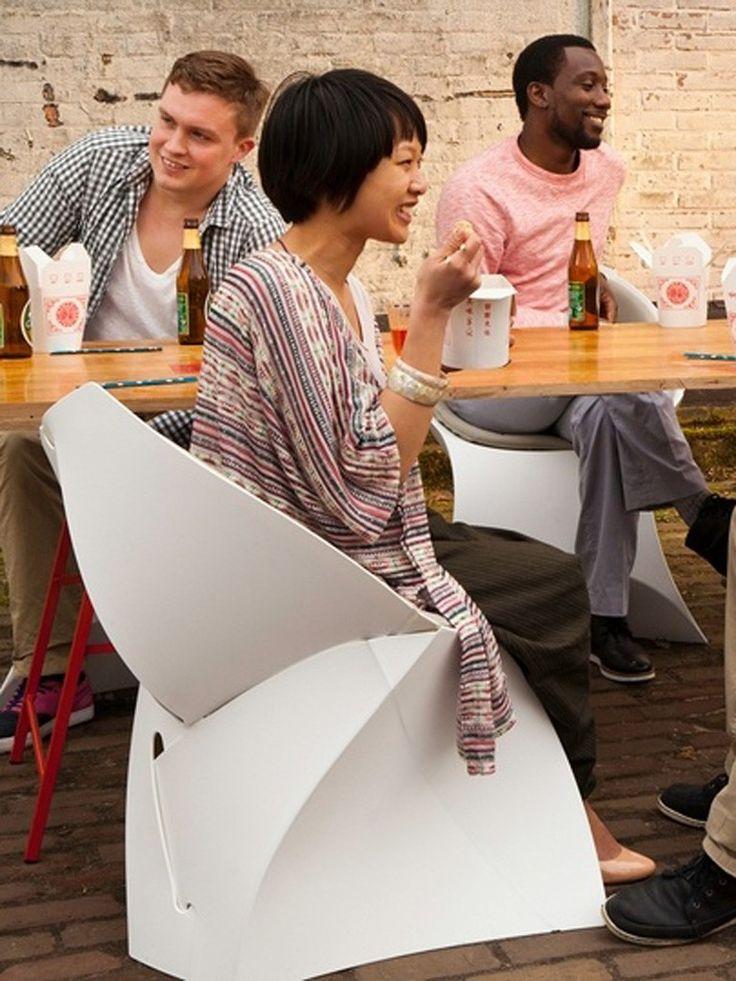 Krzesło Flux - Białe