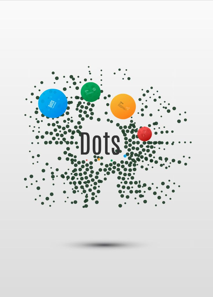 Dots Prezi template on 3D background http://preziland.com/