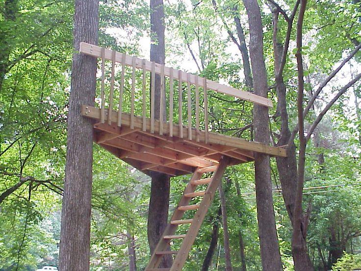 Simple Treehouse Platform Www Imgkid Com The Image Kid