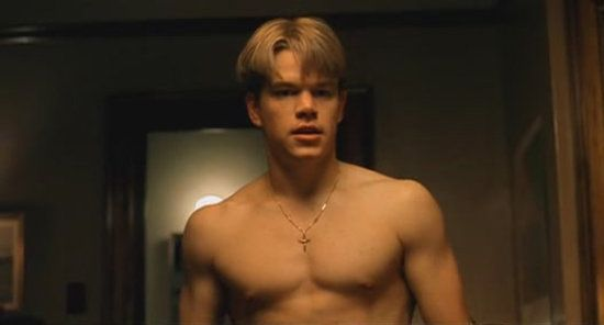 Matt damon good will hunting matt damon male for Matt damon young
