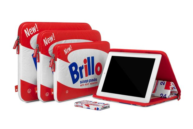 Incase 2012 Fall Andy Warhol Brillo Collection: Inca 2012, Incas Andy Warhol Brillo Cas, Warhol Foundation, Fall Andy, Brillo Collection, Apples Devices, Brillo Cases, 2012 Fall, Apples Cases