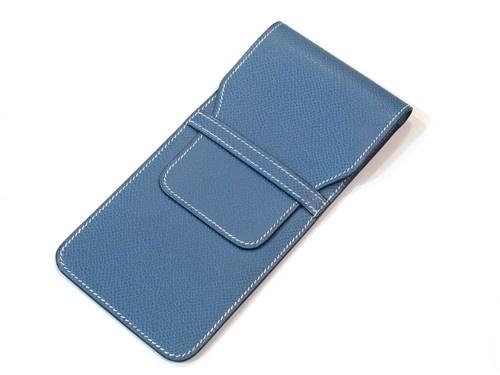 Hermes leather glasses case - $375.