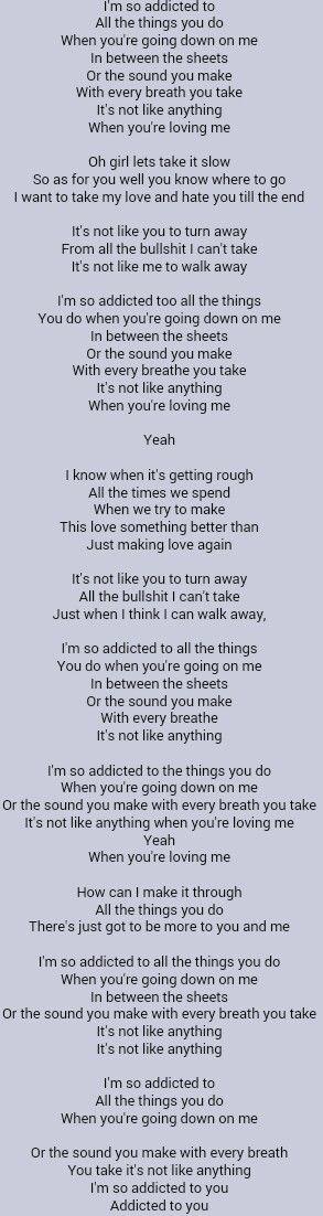 Ne-Yo - Addicted Lyrics | MetroLyrics