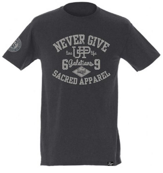 It's like a jungle sometimes It makes me wonder how I keep from goin' under. #NEVERGIVEUP Click link to purchase. https://www.sacredapparel.net/collections/all-store/products/never-give-up