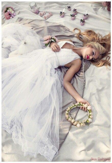 Wedding Dress Boho Styl.