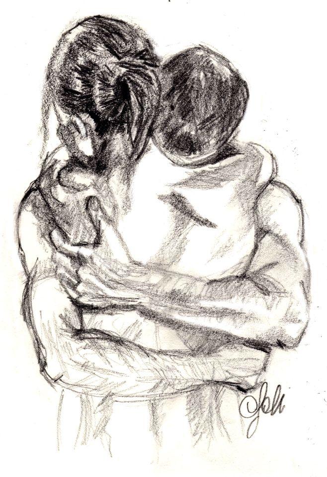 Рисованные картинки влюбленной девушки