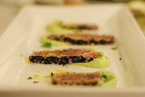 seared tuna with avocado salsa fresh tuna recipes cooking light seared ...