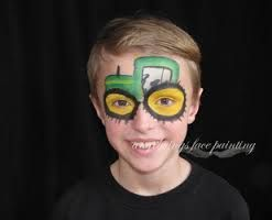 Afbeeldingsresultaat voor tractor face painting