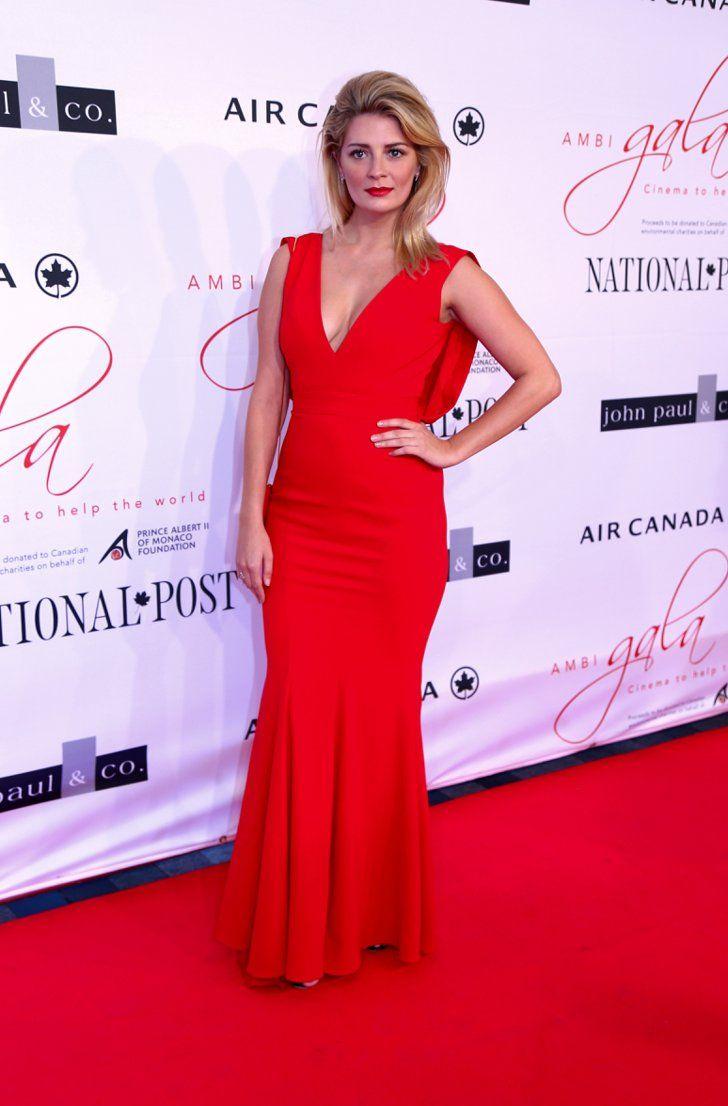Pin for Later: Sorry New York – glamouröse Kleider gibt's auch in Toronto! Mischa Barton