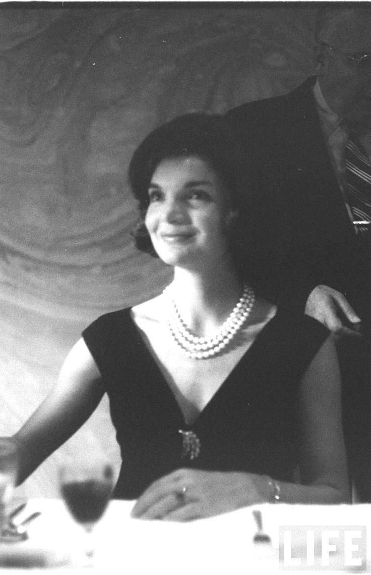 Jackie Kennedy Date taken:1960 Photographer:Edward Clark