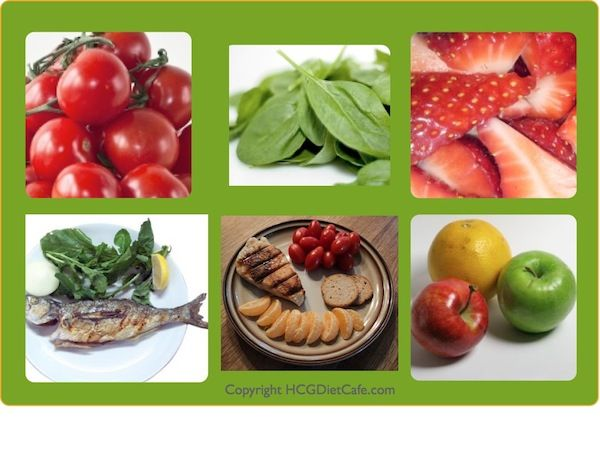 Make your meals using healthy ingredients as part of the HCG Program.