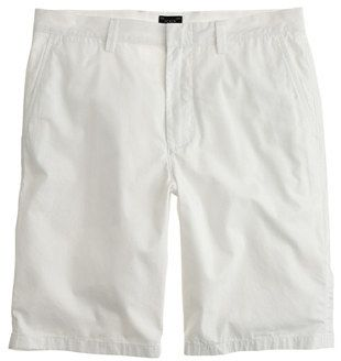 $64, White Shorts: J.Crew 105 Club Short In Lightweight Chino. Sold by J.Crew. Click for more info: https://lookastic.com/men/shop_items/11487/redirect