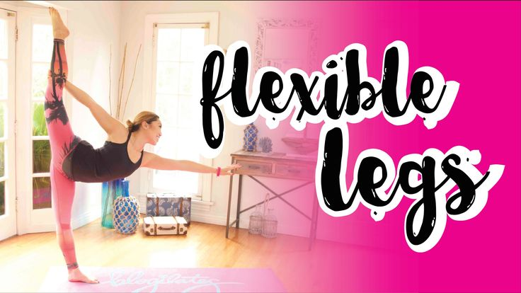 I'm going to teach you how to build more flexible legs. Why? Not only will you get to learn awesome yoga poses, but you'll also be able to get a better workout while preventing injury!