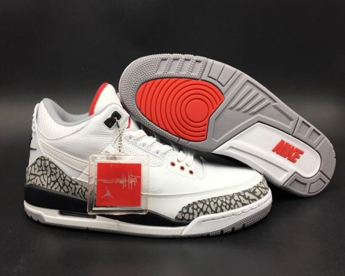 new products 4641e e7322 Cheap Priced Air Jordan 3 NRG JTH Tinker White Cement ...