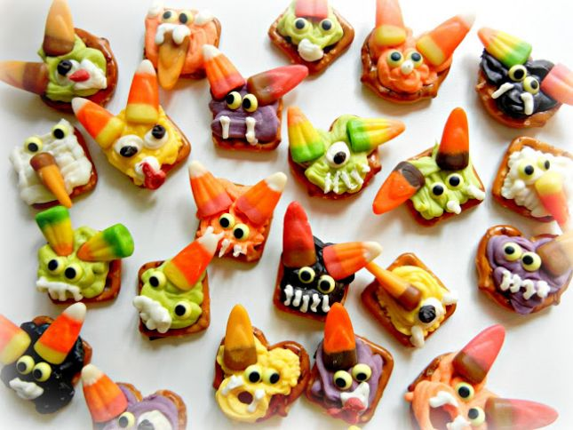 15 Frightful Monster Recipes for Halloween via Brit + Co.