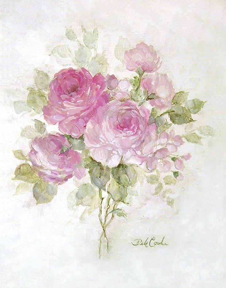 Morning Bouquet - Debi Coules Romantic Art