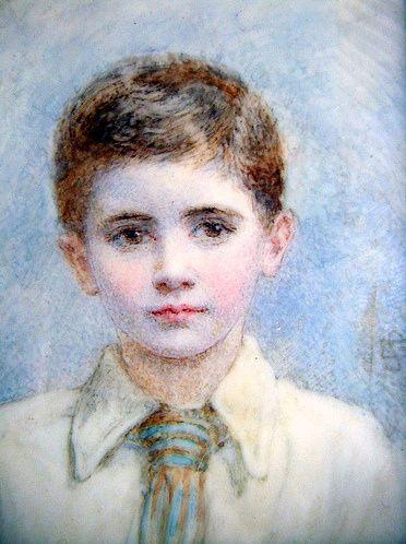Bryan Chase Marshall [via  Richard Asplen, Flickr] -- by Edith Scannell (1852 – 1940, English)