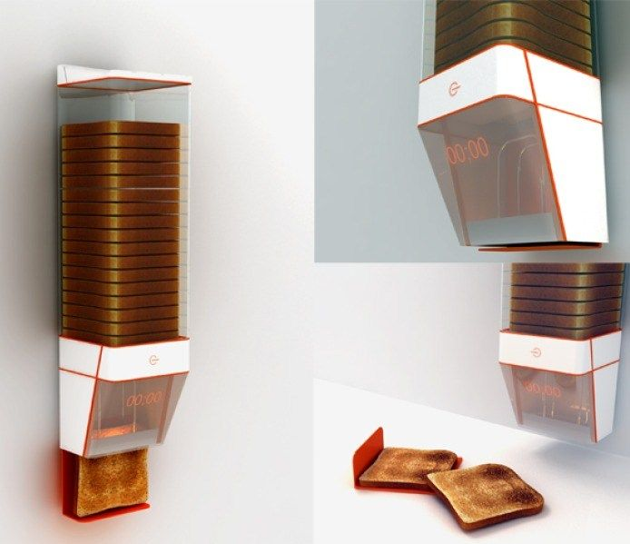 Breadfast - concept design bread storer and toaster