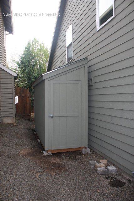 Snug Against Side Of House Shed Shed Storage Shed
