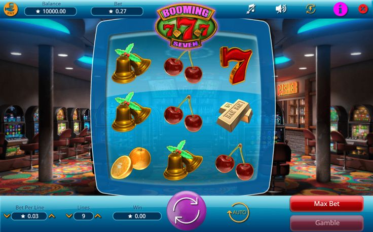 Booming Seven - http://www.777free-slots.com/free-slot-online-booming-seven/