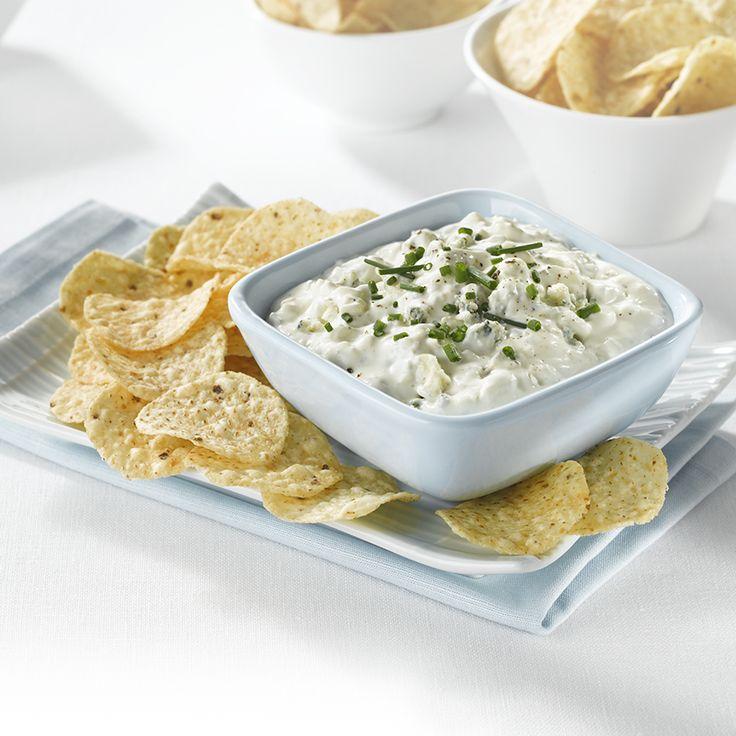Trempette fromage bleu et ciboulette - Cr�ez la plus savoureuse recette de Trempette fromage bleu et ciboulette. Tostitos� poss�de avec des directives �tape par �tape. Concoctez la meilleure/le meilleur pour n'importe quelle occasion.