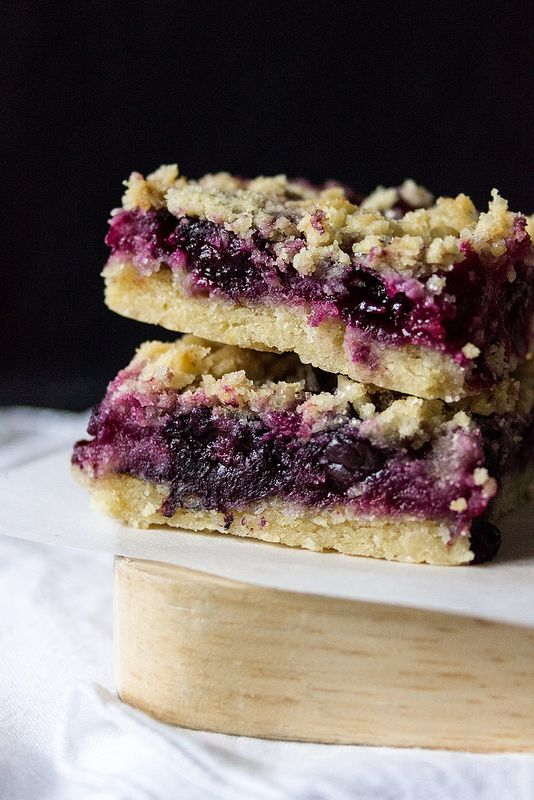 BlueberryLemon Crumble Bars - Sandra