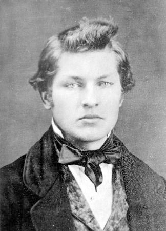 (Civil War Major General) James A. Garfield, 20th President of the United States, as a (very good-looking) young man....he served under General William Stark Rosecrans.