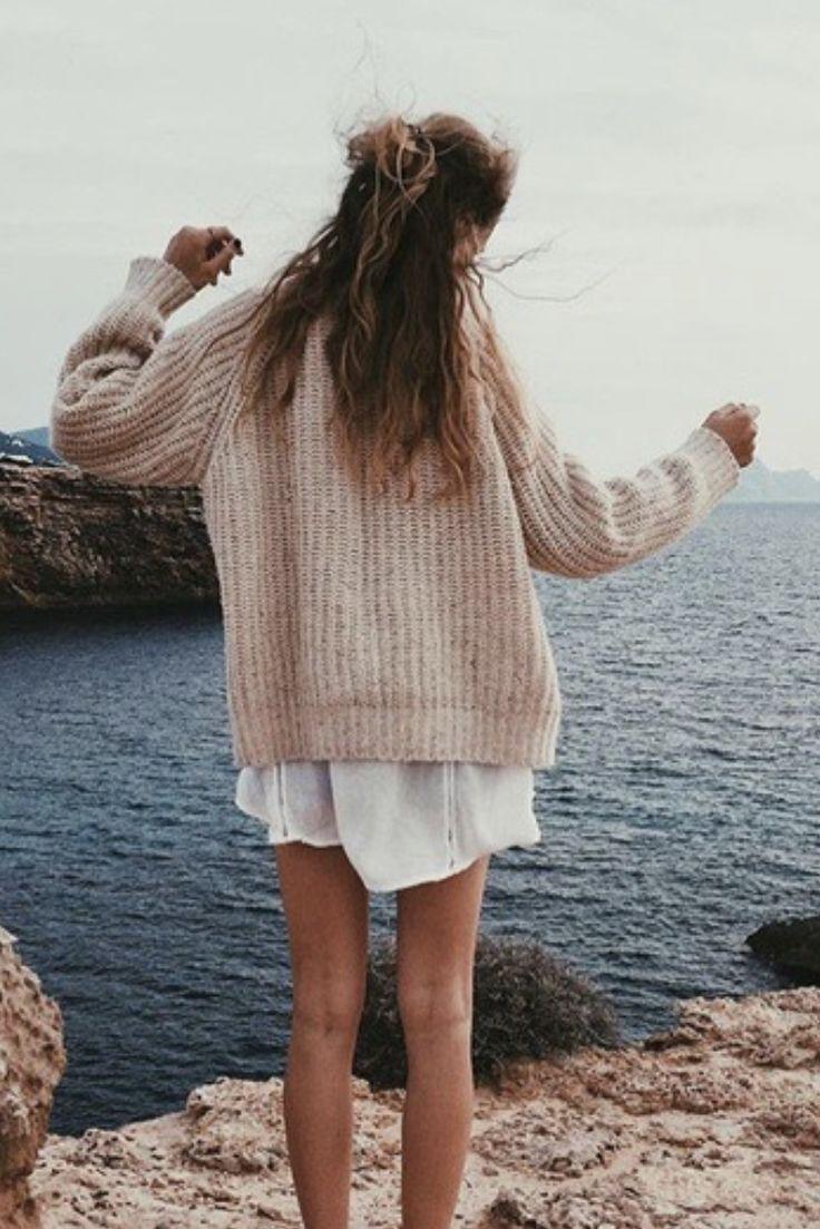 sweaters + sundresses