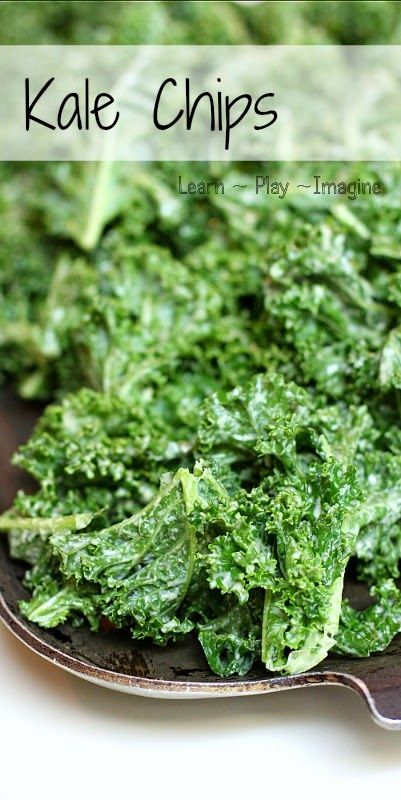 How to make the best kale chips ever.