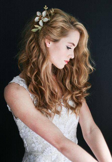 decorative comb and curls