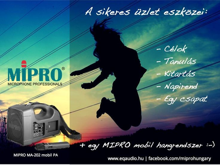MIRPO Hungary MA-202 advert for presenters. Freedom!