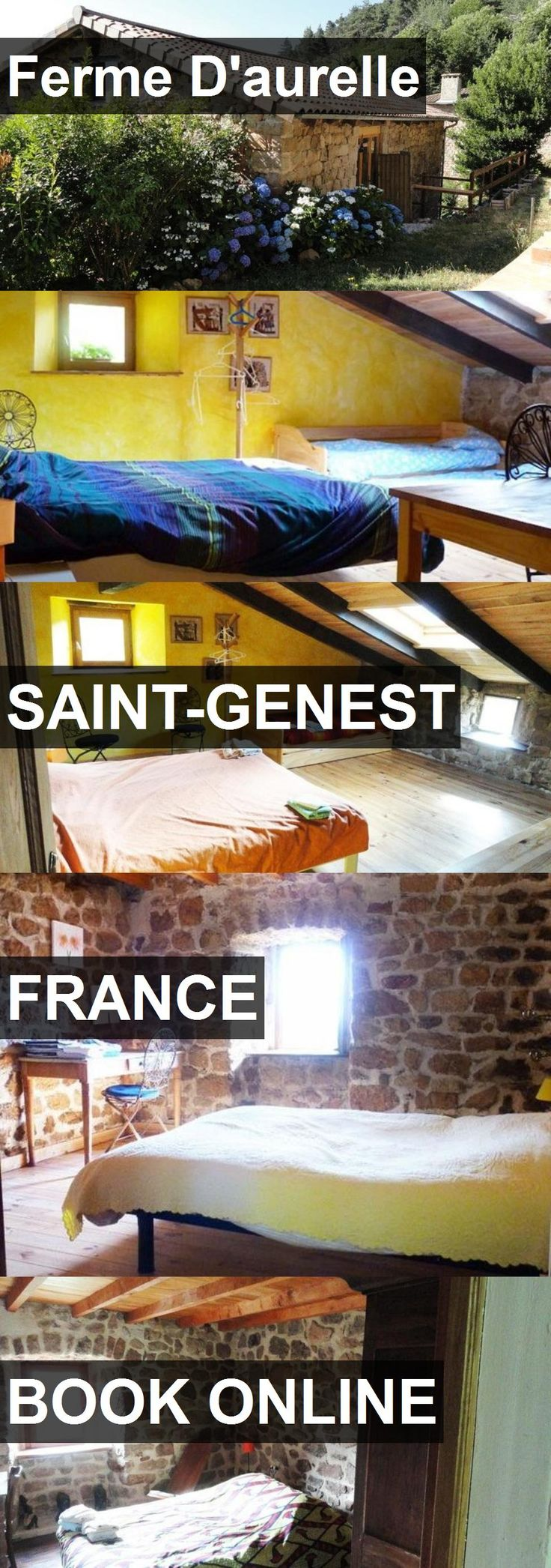 Hotel Ferme D'aurelle in Saint-Genest, France. For more information, photos, reviews and best prices please follow the link. #France #Saint-Genest #travel #vacation #hotel