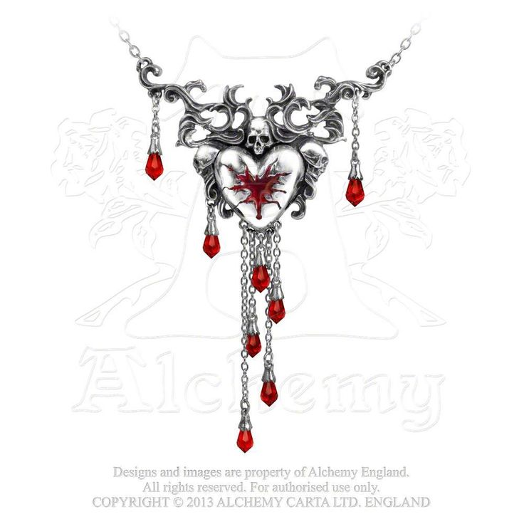 Alchemy of England - P550 - Bleeding Heart Necklace, $89.00 (http://www.alchemyofengland.com/p550-bleeding-heart-necklace/)