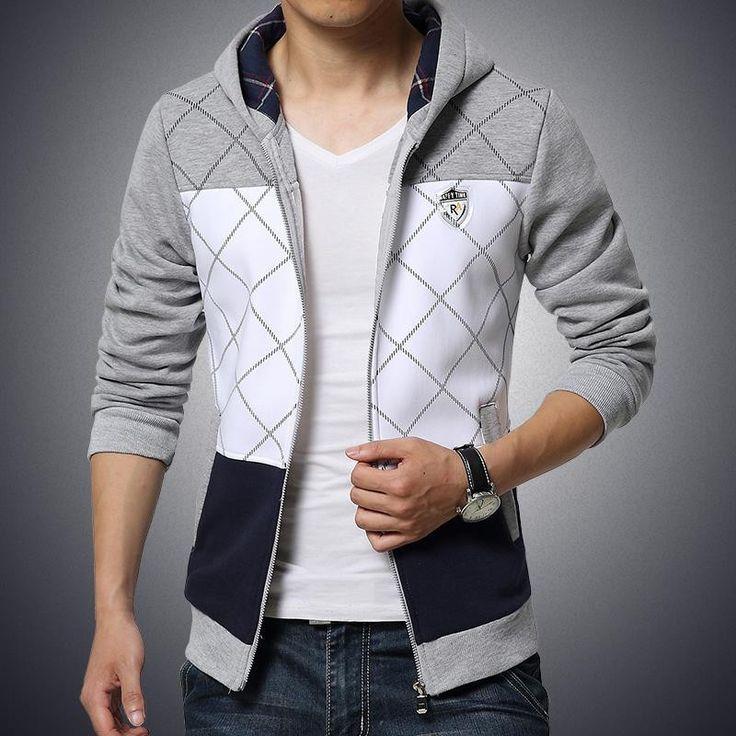 Dmart7deal mens hoodies sweatshirts plaid tracksuit men slim fit sweatshirt men hoodies M-5XL sudaderas hombre